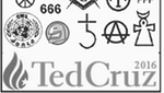 Thumbnail image for Ted Cruz campaign tracts warn of 'Satan's Spiritual Structure'