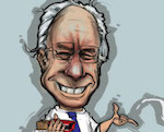Thumbnail image for Is Hillary Clinton feelin' the Bern? (toon)