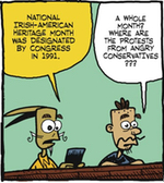 Thumbnail image for La Cucaracha: Happy Irish American Heritage Month (toon)