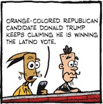 Thumbnail image for La Cucaracha: Does Donald Trump have the Latino vote? (toon)