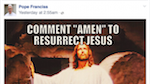 Thumbnail image for Good Friday particularly disappointing for ambitious Facebook post