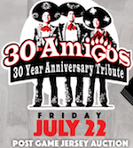 Thumbnail image for AAA Fresno Grizzlies (aka Fresno Tacos) celebrate 'Three Amigos'