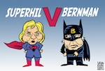 Thumbnail image for Who will emerge victorious in this epic clash of superheroes? (toon)