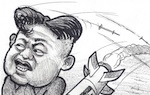 Thumbnail image for North Korea protests new UN sanctions by firing missile (toon)