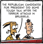 Thumbnail image for La Cucaracha: How about that GOP foreign policy? (toon)