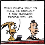Thumbnail image for La Cucaracha: Cuba is now abierto for American business (toon)